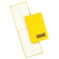 Image for Chartwell Dimension Book Yellow 2242