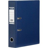 Image for Bantex Lever Arch File PVC A4 Upright 70mm Blue 100080898