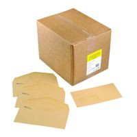 Image for Niger Envelope Manilla 70Gm C6 114x162mm Gummed Flapped Boxed 1000