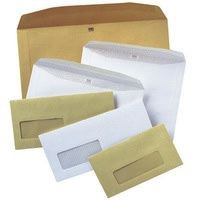 Image for Autofil Envelope White Wove 90gm 162x240mm Gummed Flapped Window 72Up 15Lhs Boxed 500