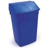 Addis 54 Litre Flip Top Composite Plastic Bin Blue Code 510796