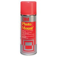 Image for 3M PhotoMount Adhesive Spray Can CFC-Free Non-Yellowing 400ml Ref PMOUNT