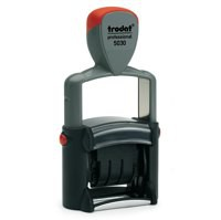 Trodat Professional Line 5030 Self Inking Date Stamp 4mm Characters Black