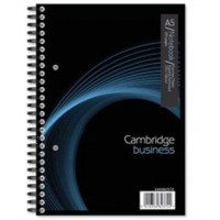 Image for A5 Cambridge 200 Page Notebook 100082372