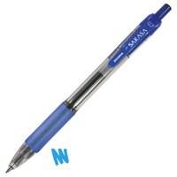 Zebra Sarasa Retractable Rollerball Gel Ink Pen Medium Blue Pack 12 Code 46820