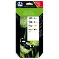HP No.940XL Ink Carteidges Combo Multi-Pack 4 Code C2N93AE