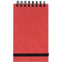 Silvine Spiral Elstic Band Notebook Pk12