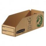 Fellowes Basics Parts Bin Corrugated Fibreboard Packed Flat W98xD280xH102mm Ref 07353 [Pack 50]