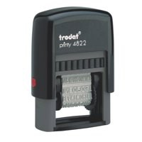 Trodat EcoPrinty 4822 Multi Word & Date Stamp