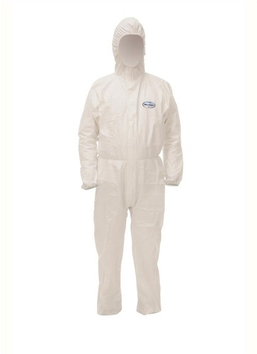 Kleenguard A40 Coverall Film Laminate Fabric Particle-resistant Anti-static EN 1149-1 Medium 97910