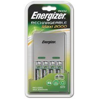 Image for Energizer Maxi Battery Charger with 4x AA 2000mAh Batteries Ref 632325