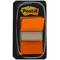 3M Post-it Index Flags 25x43mm Orange Pack 50 Code 680-4