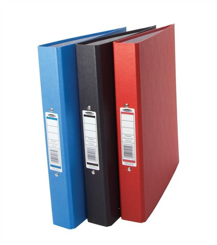 Concord Classic Ring Binder O-Ring With 5-Part Dividers Capacity 25mm A4 Black Code C82102