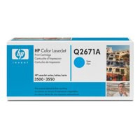 Image for Hewlett Packard [HP] No. 309A Laser Toner Cartridge Page Life 4000pp Cyan Ref Q2671A