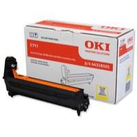 Oki C711 Ep C711 Yellow Drum Unit Code 44318505