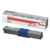 Oki C310/330/510/530 Cyan Toner Cartridge 2K Code 44469706