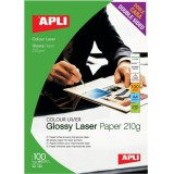 Apli Laser Paper Glossy Double-Sided 210gsm A4 Code 11833