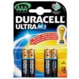 Duracell Ultra M3 MN1500-AAA Alkaline Batteries Pack 8 Code 75052880
