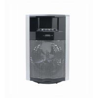 Image for Fan Heater Digital Thermostat and Display IP21 Waterdrop Safe 24hr Timer 2200W