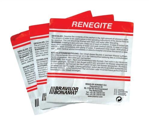Bravilor Bonamat Renegite Kettle Descaler Sachet 50g Code N04236