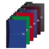 Oxford Office A4 Notebook Wirebound Soft Cover Ruled 180 Pagesp 90gsm Assorted Code 100105331