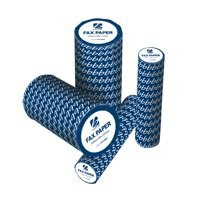 Image for 5 Star Fax Roll Thermal with 1m Warning Strip W210mmxL30mx12.7mm Core [Pack 6]