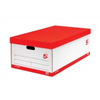 Image for 5 Star Jumbo Storage Box White