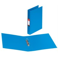 Image for 5 Star Ring Binder PVC 2 O-Ring Size 25mm A4 Blue [Pack 10]