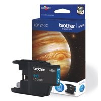 Brother Inkjet Cartridge Page Life 600pp Cyan Code LC1240C