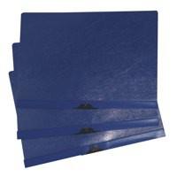 Image for 5 Star Clip Folder 3mm Spine for 30 Sheets A4 Blue [Pack 25]