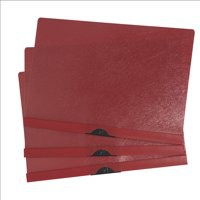 Image for 5 Star Clip Folder 6mm Spine for 60 Sheets A4 Red [Pack 25]