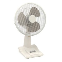 Image for 5 Star Desk Fan Oscillating Tilt and Lock 48.5Db 3-Speed H500mm Dia.305mm