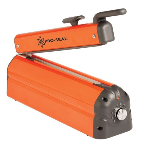Adpac Impulse Heat Sealer With Cutter Adjustable Sealing-time Size 420mm Code C420