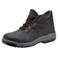 Image for Portwest S1P D Ring Chukka Boots Steel Toecap & Midsole Leather Slip-resistant Size 8 Ref FW10SIZE8