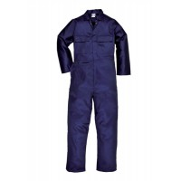 Image for PW Stud Front Coverall Navy S999MED