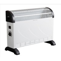 Image for Connect-IT Convector Heater Electric 2 Heat Settings 2kW White and Black Ref ES139