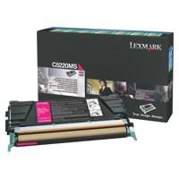 Lexmark C520N Return Program Laser Toner Cartridge Magenta Code C5220MS