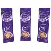 Cadbury Chocolate High Lights. Fairtrade certified. 40 calories per serving. 1 cup sachets.