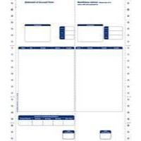 Image for Communisis Sage Compatible Statements Tear-off Remittance Portion 2 Part Ref DUKSA007 [Pack 1000]