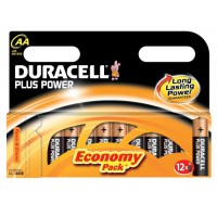 Image for Duracell Plus Power Battery Size AA Pk12