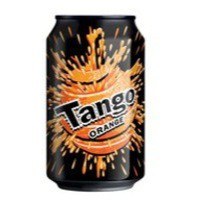 Britvic Tango Orange Soft Drink 330ml Can Pack 24