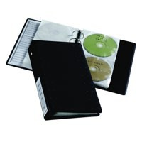 Image for Durable CD and DVD Index 20 Ring Binder with 10 Pockets for 20 Disks Ref 5204/39/58
