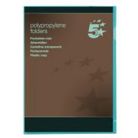 Image for 5 Star Office Plastic Folder A4 Gn Pk25