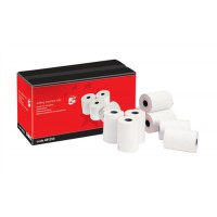 Image for 5 Star Adding Machine Roll Single Ply 55gsm W57xD70xCore12.7mm White [Pack 20]