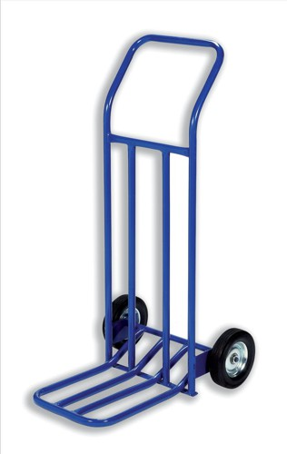 RelX Hand Trolley General Capacity 160kg Wheel 205mm Foot Size 565x640mm Blue Code HT1585