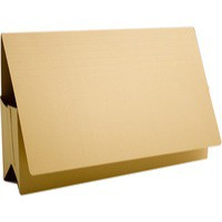 Image for Guildhall Probate Wallets Manilla 315gsm 75mm Foolscap Yellow Ref PRW2-YLWZ [Pack 25]
