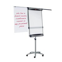 Nobo Piranha Magnetic Flipchart Easel With Side Arms Code 1901919