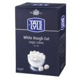 Tate and Lyle White Sugar Cubes Rough-Cut 1 Kg Code A03902