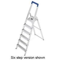 Image for **Fldg Alu Lad 7 Non Slip Steps 8927-001