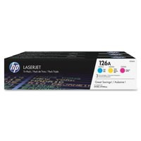 HP No.126A Laser Toner Cartridge Cyan/Magenta/Yellow Code CF341A